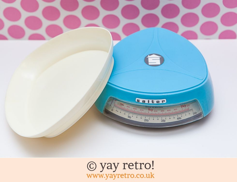 Salter Sky Blue Kitchen Scales (£12.50)