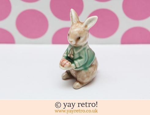 0: Vintage Bunny Rabbit Ornament for Easter (£6.00)