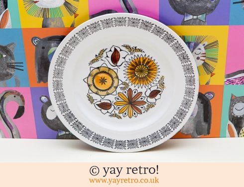 94: Kathie Winkle Calypso Side Luncheon Plate (£7.00)