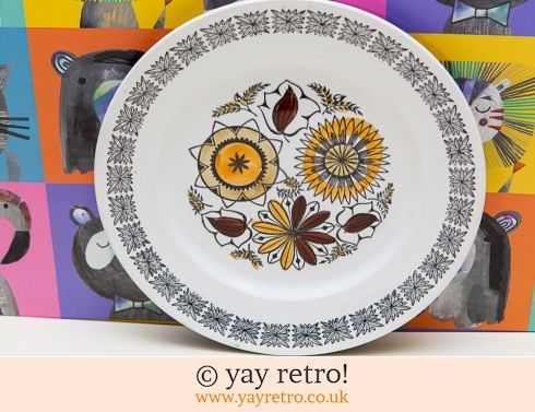 94: Kathie Winkle Calypso Side Luncheon Plate (£7.50)