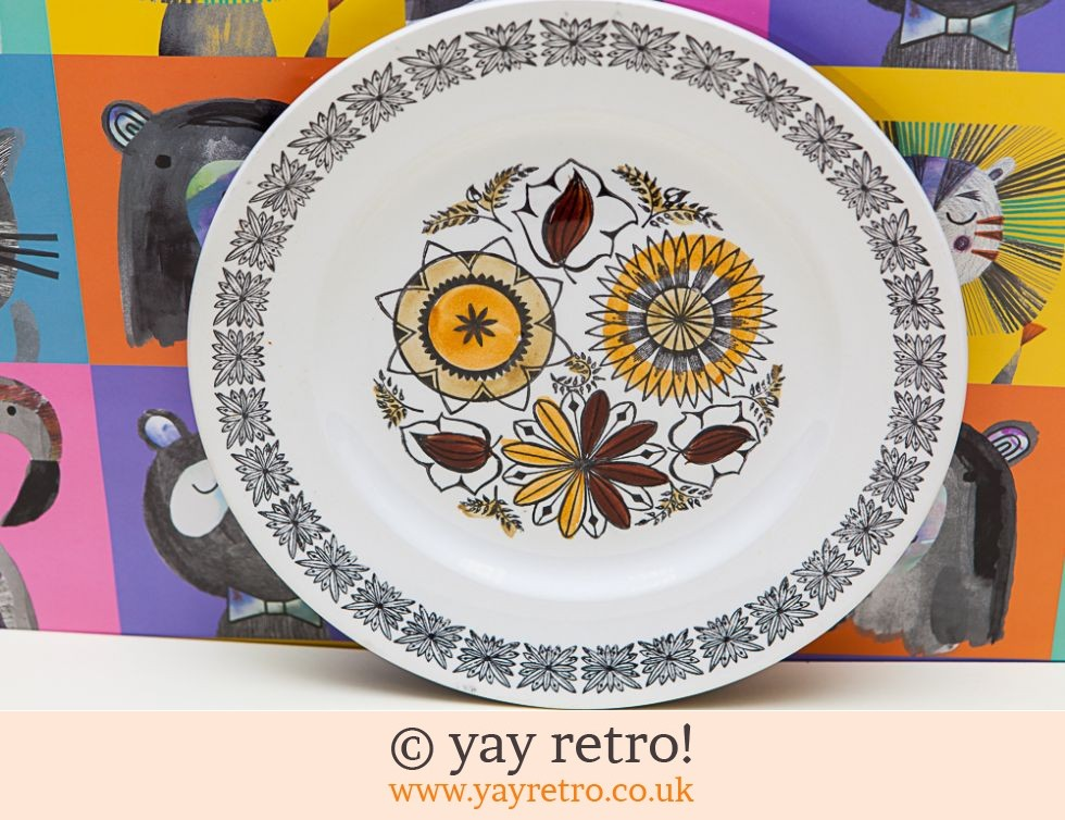 Kathie Winkle Calypso Side Luncheon Plate (£7.00)
