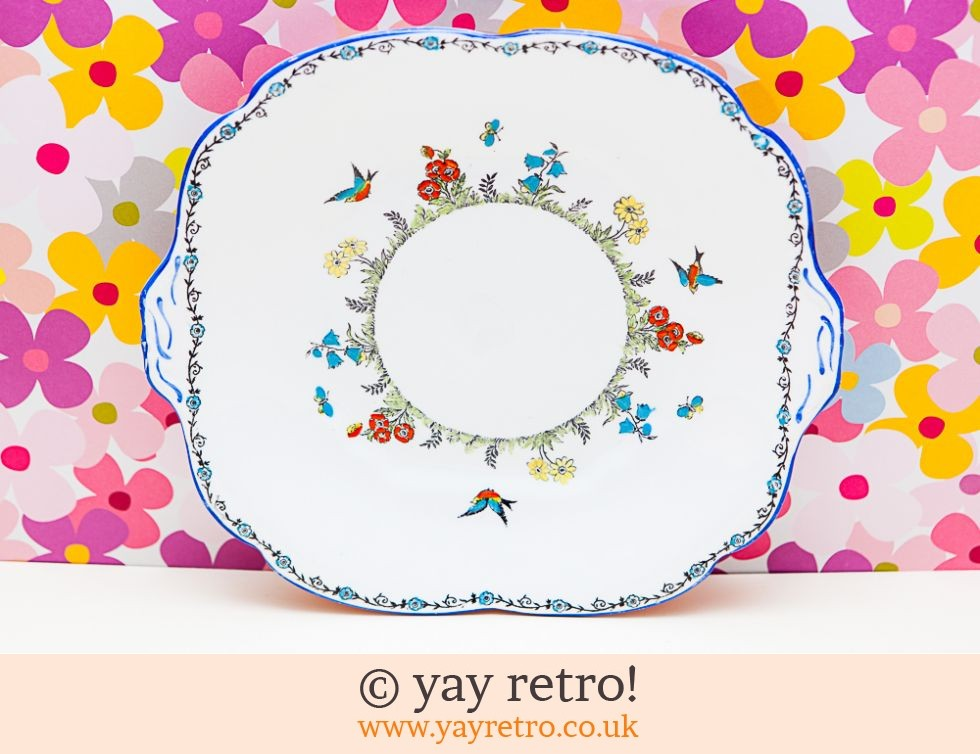 Collingwood: Stunning Art Deco Cake Plate (£8.00)