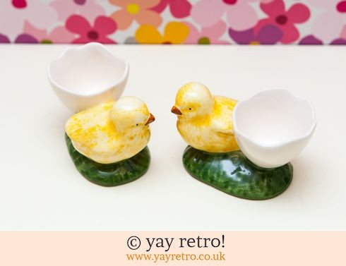0: Vintage Chick Egg Cups (£6.00)