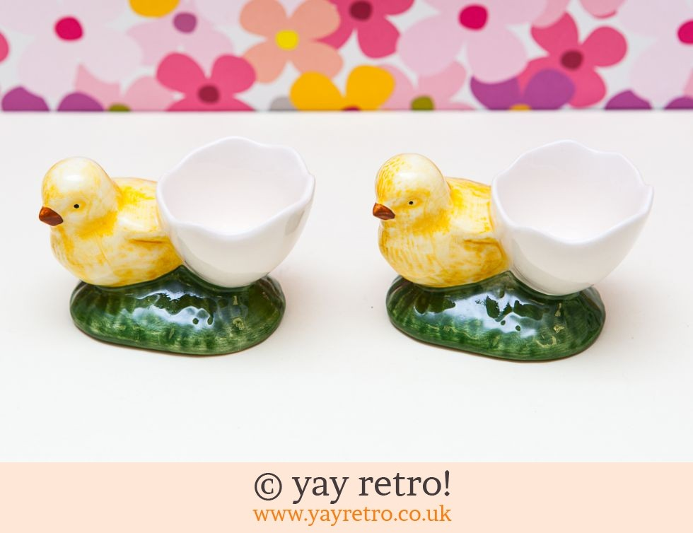 Vintage Chick Egg Cups (£6.00)