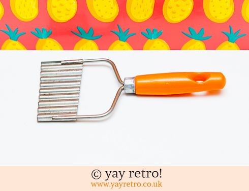 0: Orange Vintage Chip or Vegetable Slicer (£7.25)