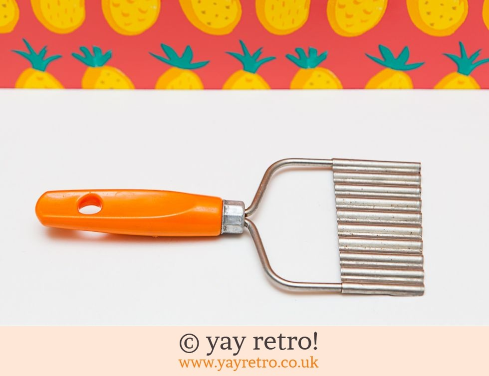 Orange Vintage Chip or Vegetable Slicer (£7.25)