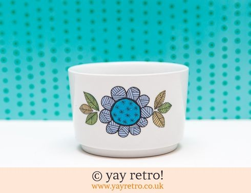 100: Meakin Topic Sugar Bowl (£4.00)
