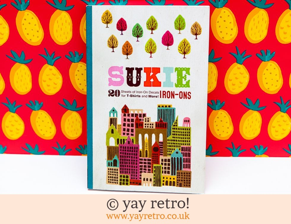 Sukie Iron On Decals Book - New (£11.50)