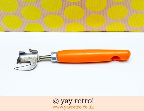 98: Vintage Skyline Orange Can Opener (£5.50)