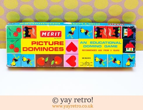 411: Vintage 1960s Picture Dominoes (£17.50)