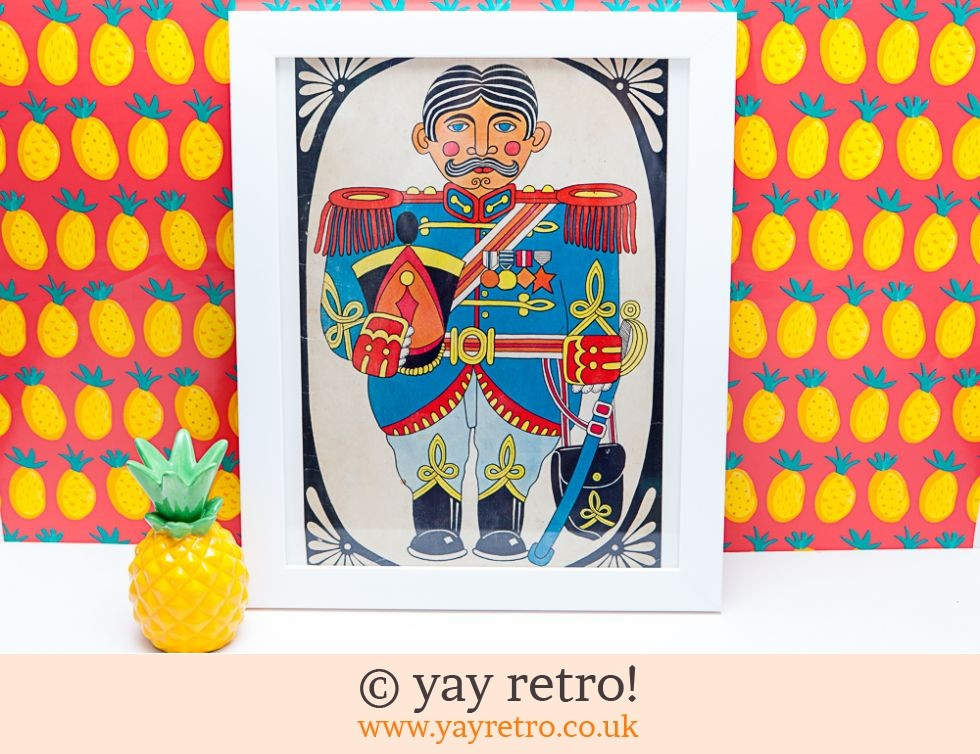 Large Sergeant Pepper 1960s Framed Picture 40 x 33cm (£20.95)