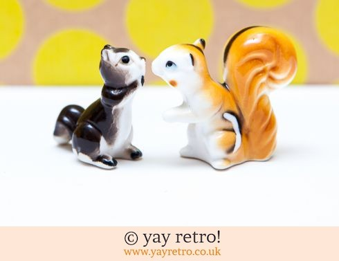 0: Vintage Chipmunk / Squirrel Ornament + 1 Squirrel Free! (£6.50)