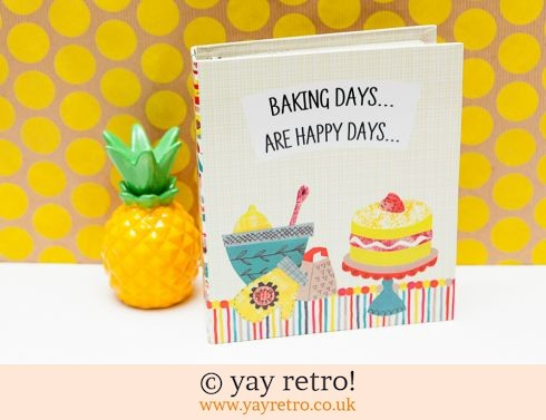0: Baking Days Recipe Folder (£7.50)