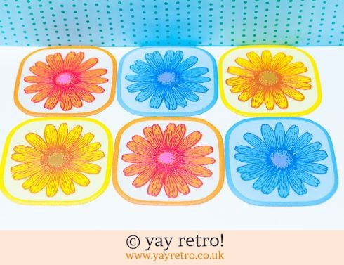 0: Fabby Daisy Coasters in Box (£12.95)