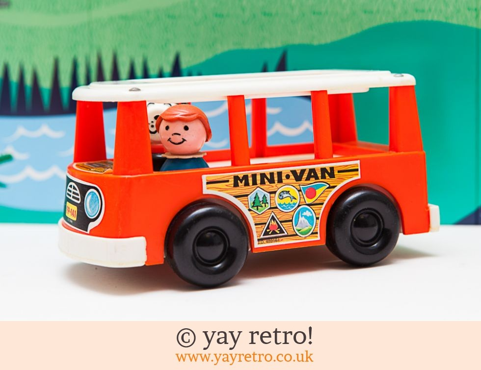 Fisher Price 1969 Mini Bus With Figures - Vintage Shop, Retro China ...