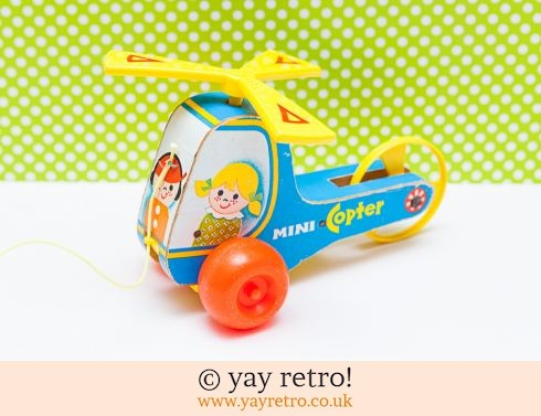 535: Fisher Price 1972 Mini Copter (£14.75)