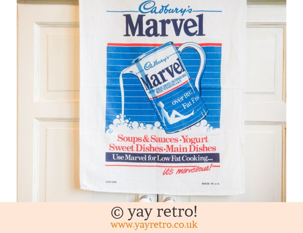 Cadburys: Vintage Marvel Tea Towel (£4.00)