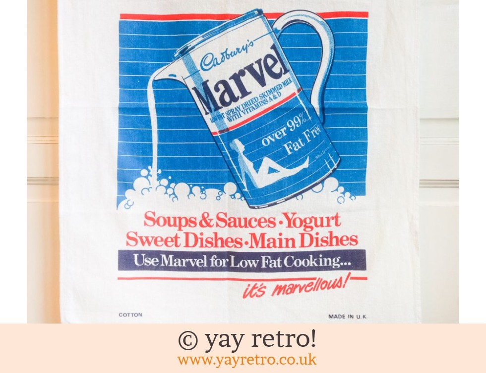 Vintage Marvel Tea Towel (£4.00)