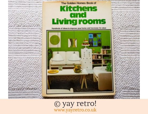 610: 1973 Kitchens and Living Rooms Book (£7.50)