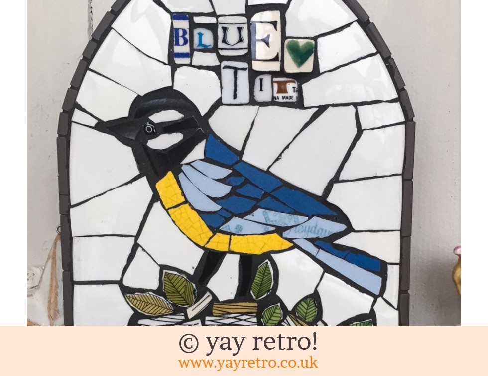 Blue Tit Mosaic Panel (£45.00)