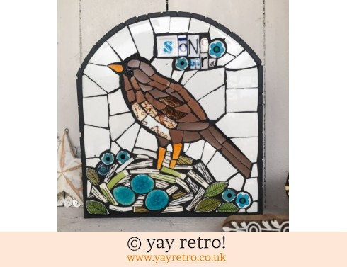 140: Song Bird Mosaic Panel (£45.00)