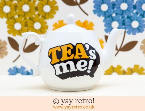 5: Flirty Tea's Me! teapot (£3.00)
