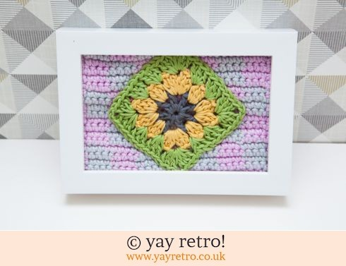 Framed Granny Square 6 x 4 (£8.00)
