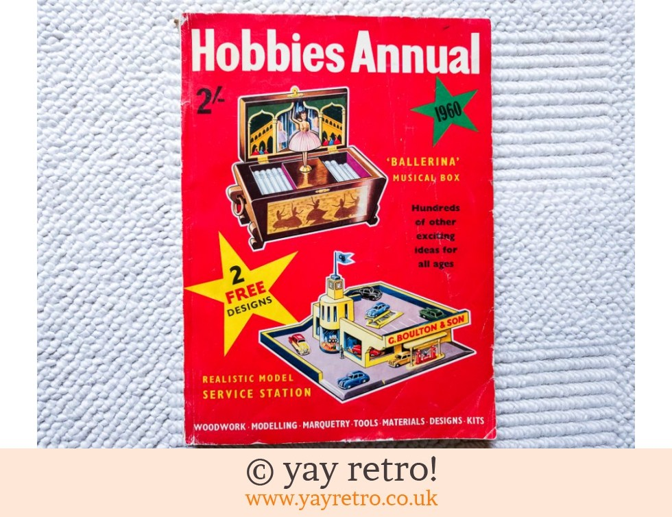 1960 Hobbies Annual - Illustrations Galore! (£8.50)