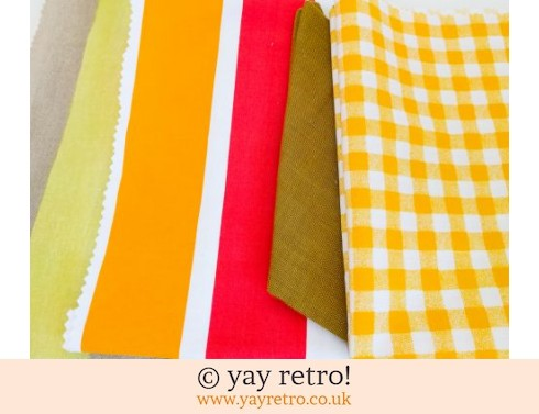0: Orange & Yellow Vintage Scrap Pack (£4.00)