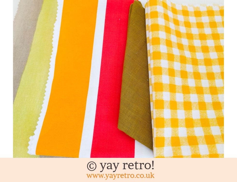 Orange & Yellow Vintage Scrap Pack (£4.00)