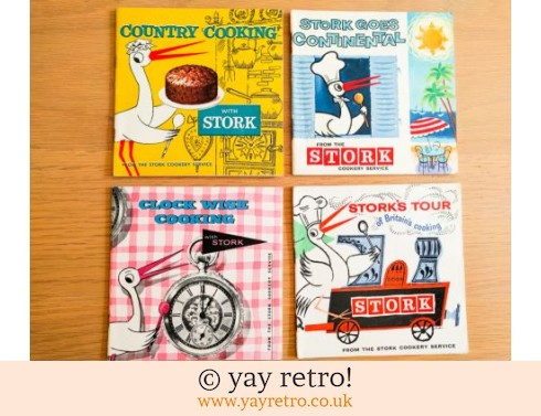 663: Stork Cook Recipe Books x 4 (£13.00)