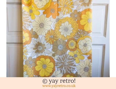 0: M&S Flowery Yellow  Pillow Case (£5.75)