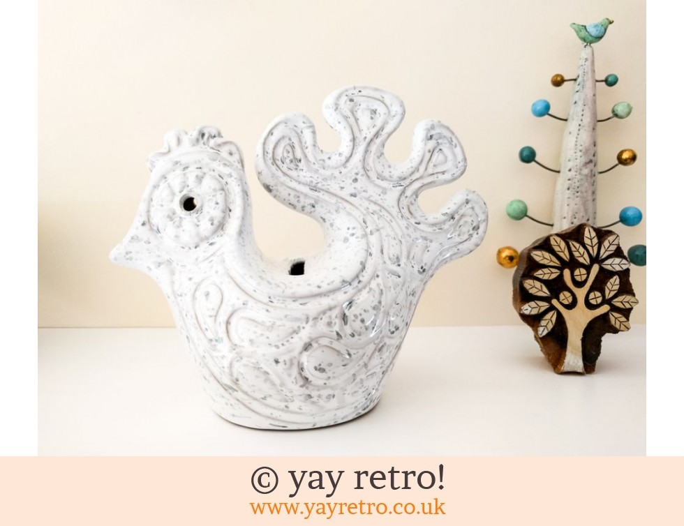 Scandi Styled Pottery Bird Money Box (£21.00)