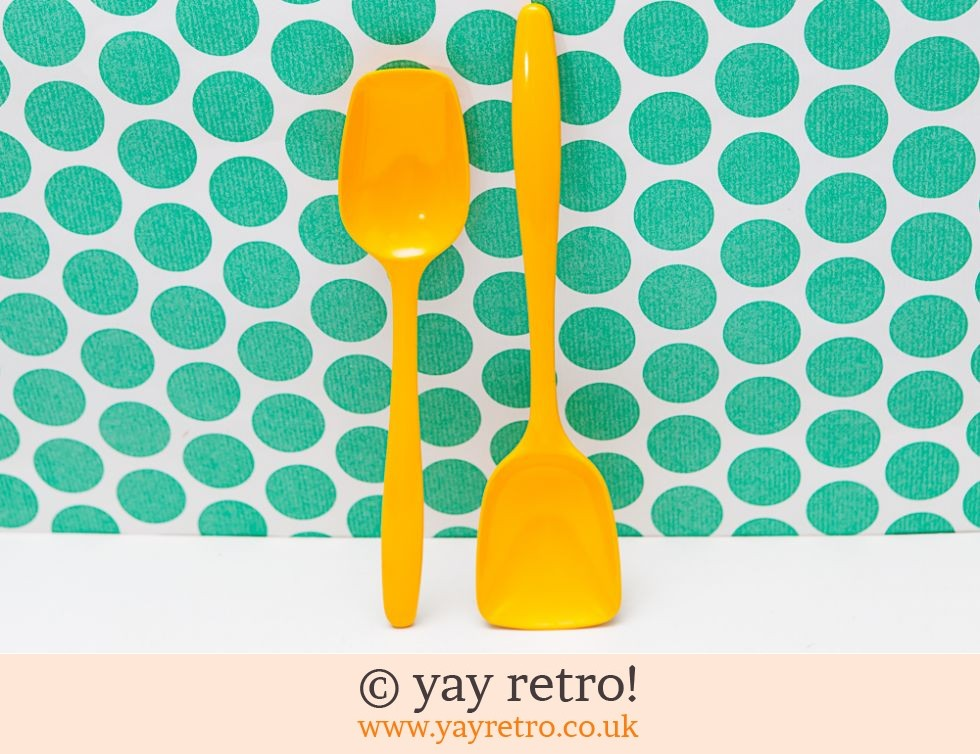 Rosti Mepal Bright Yellow Serving / Cooking Spoons (£16.50)