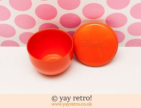 132: Beetleware Orange Butter Pot - Ultra Rare (£14.95)