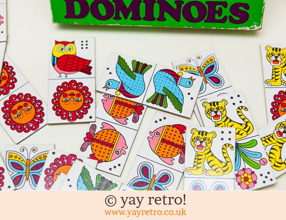 Vintage Educational Picture Dominoes (£10.50)