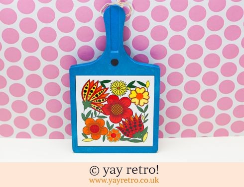 0: Flower Power Tile Cheese Board (£22.50)