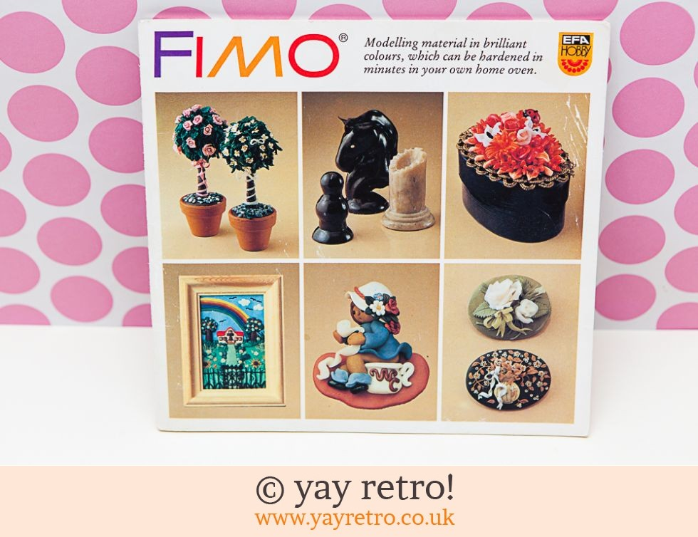 Eberhard Faber Germany: Fimo Book 1982 (£4.75)
