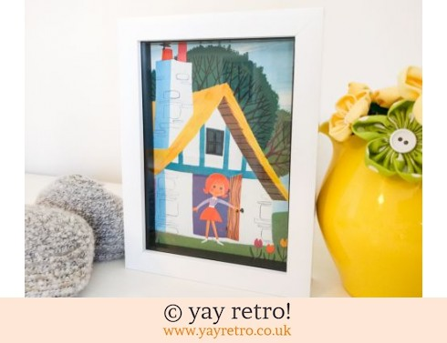 0: Framed Alain Grée 1971 Cottage 7x5 (£8.00)