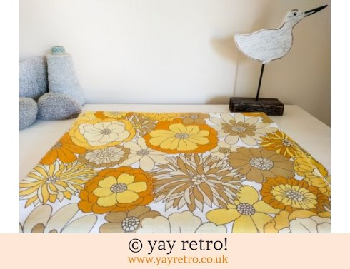 Yellow Flower Power M&S Vintage Daisy Sheet (£21.50)