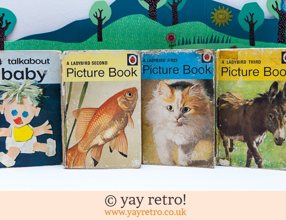 4 Ladybird Picture Books Buy Yay Retro Handmade Crochet