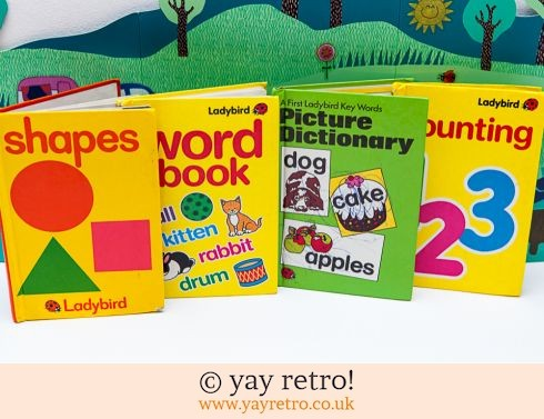 286: 4 Ladybird Learning Books (£5.00)