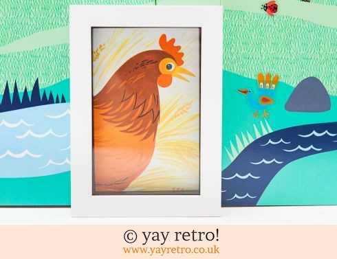 0: Framed Alain Grée 1971 Chicken 6x4 (£8.00)