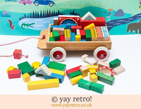 0: Vintage Pull Along Truck + Bricks! (£20.00)