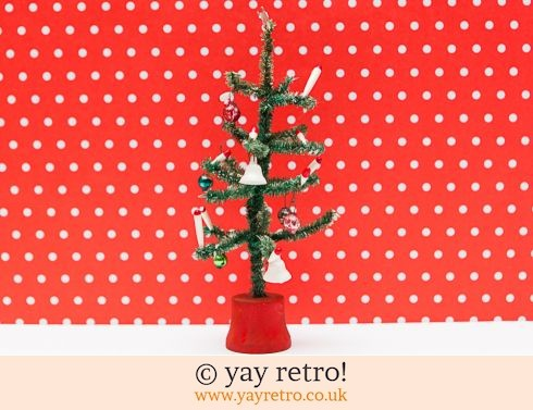 0: Vintage Christmas Tree Ornament 1960s (£16.00)