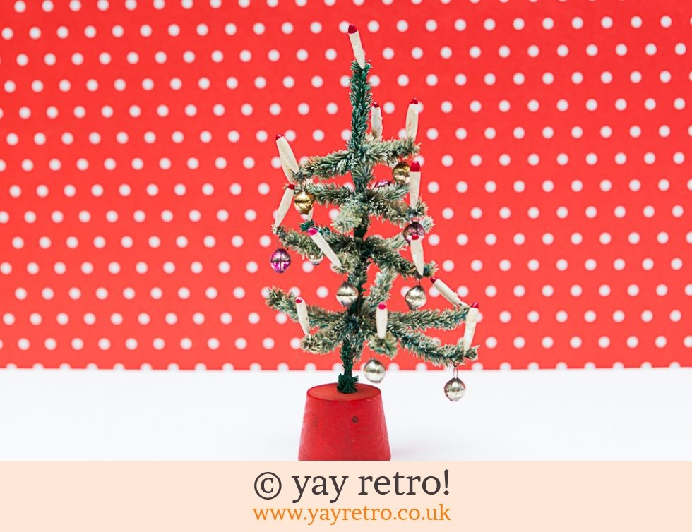 Vintage Christmas Tree Ornament 1960s (£16.00)