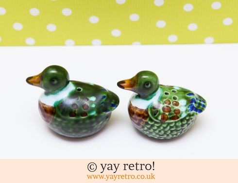 0: Duck Salt and Pepper pots (£8.75)