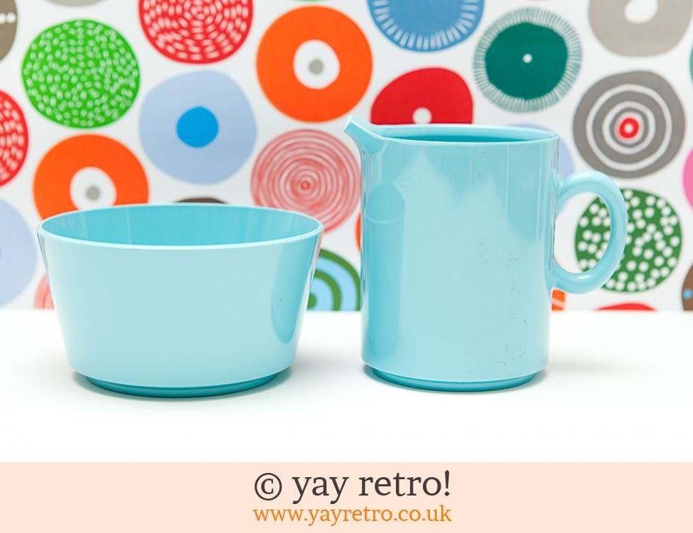 Gaydon Encore: Gaydon Encore Jug & Sugar Bowl Blue (£13.00)