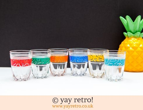 0: Boxed Set of 6 Vintage Shot Glasses (£9.95)