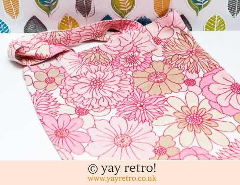 0: 60/70s Flower Power Bag (£12.50)